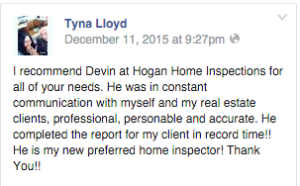 Hogan Home Inspection Review